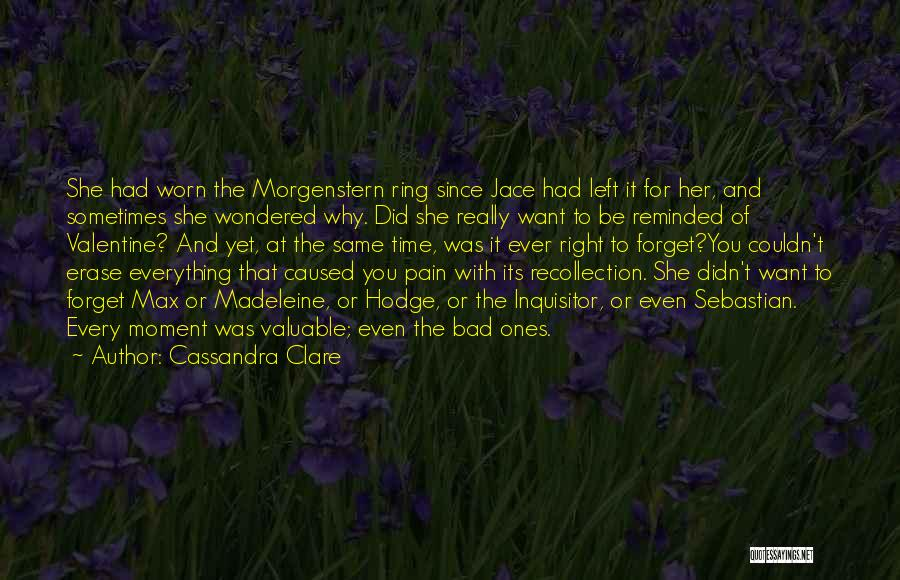 Valuable Time With Family Quotes By Cassandra Clare