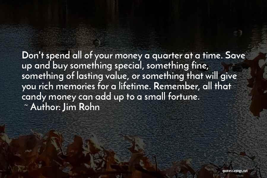 Value Of Small Things Quotes By Jim Rohn