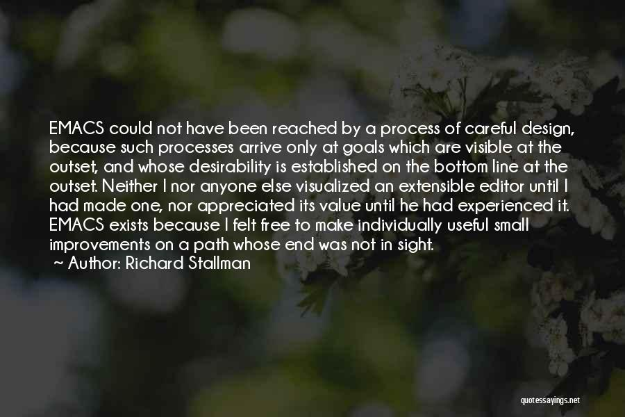 Value Of Small Things Quotes By Richard Stallman