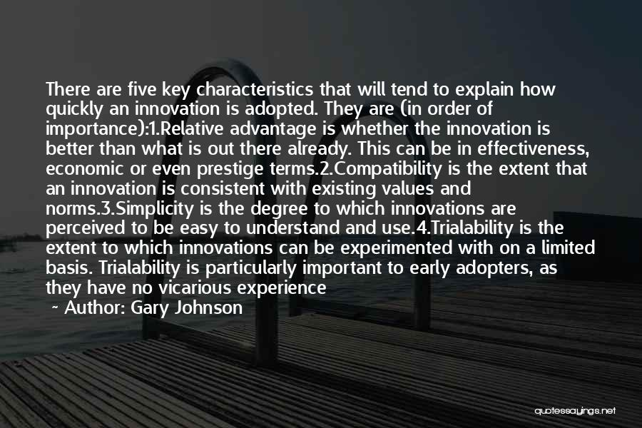 Values And Norms Quotes By Gary Johnson