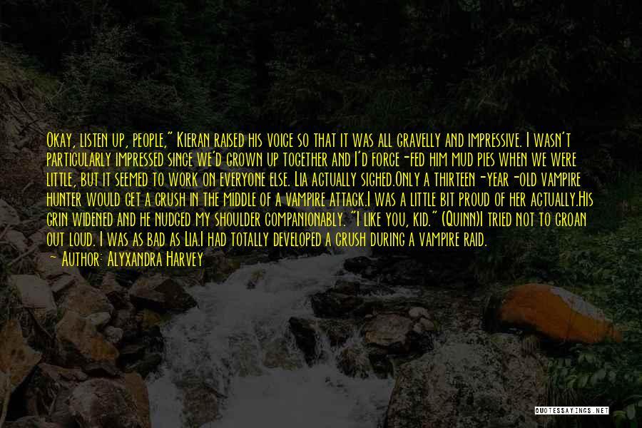 Vampire Hunter D Quotes By Alyxandra Harvey