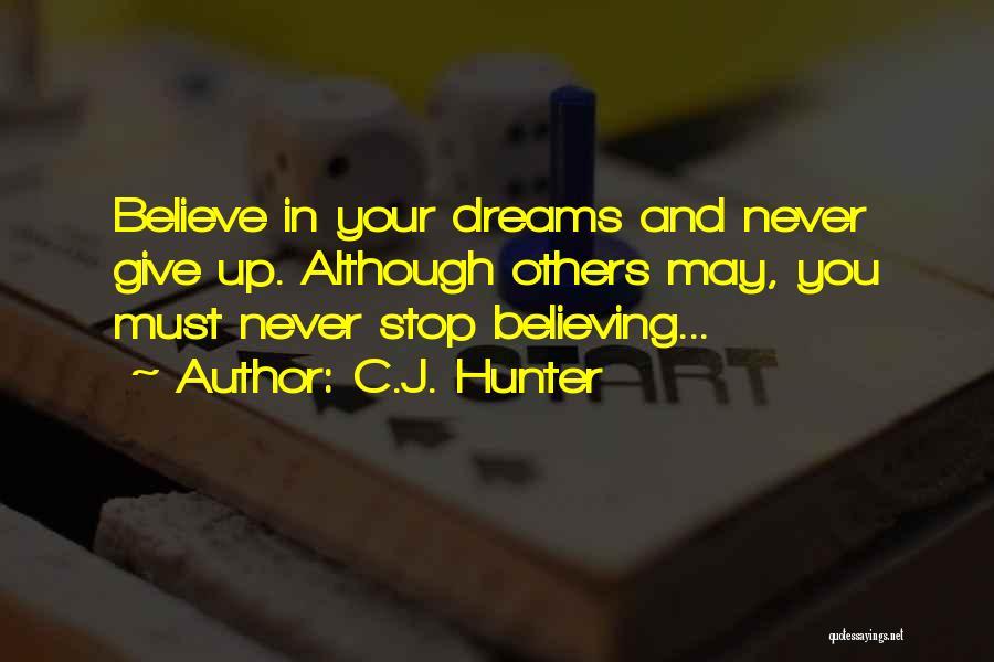Vampire Hunter D Quotes By C.J. Hunter