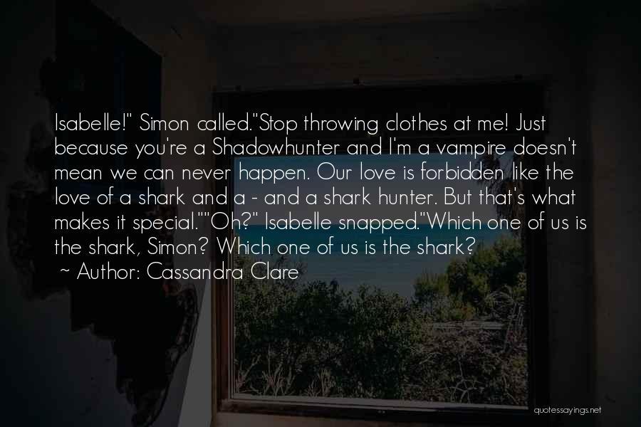 Vampire Hunter D Quotes By Cassandra Clare