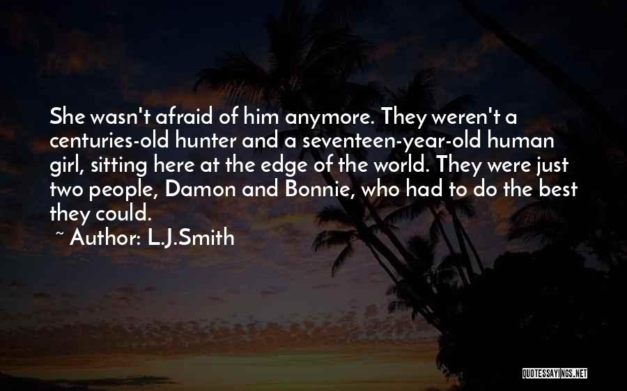 Vampire Hunter D Quotes By L.J.Smith