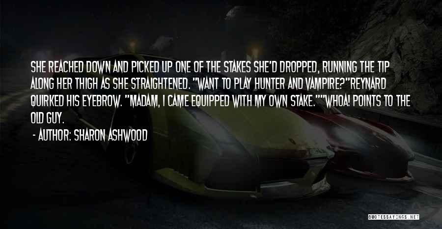 Vampire Hunter D Quotes By Sharon Ashwood