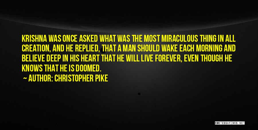 Vampire Life Quotes By Christopher Pike