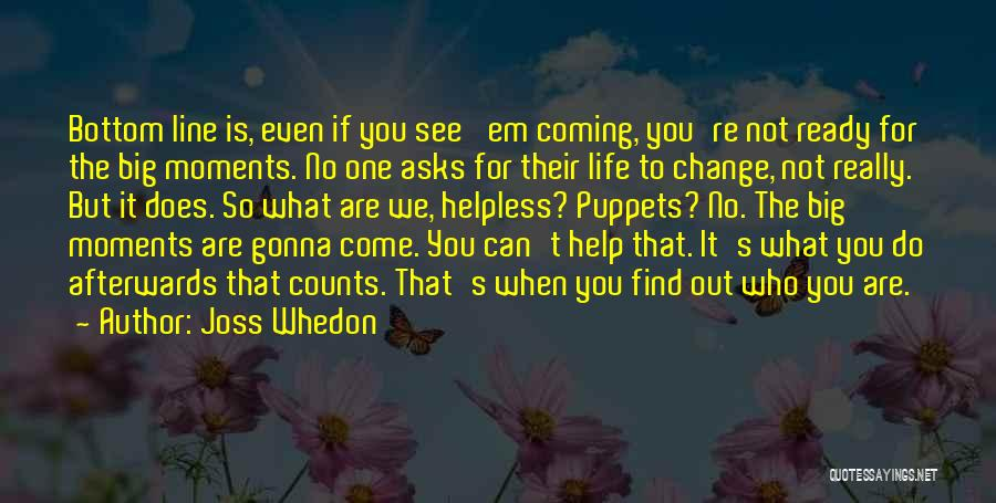 Vampire Life Quotes By Joss Whedon