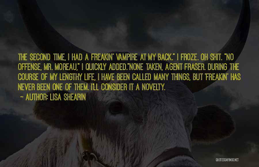 Vampire Life Quotes By Lisa Shearin