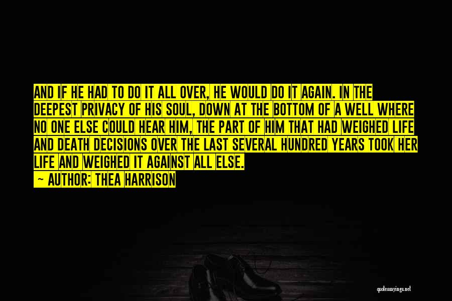 Vampire Life Quotes By Thea Harrison