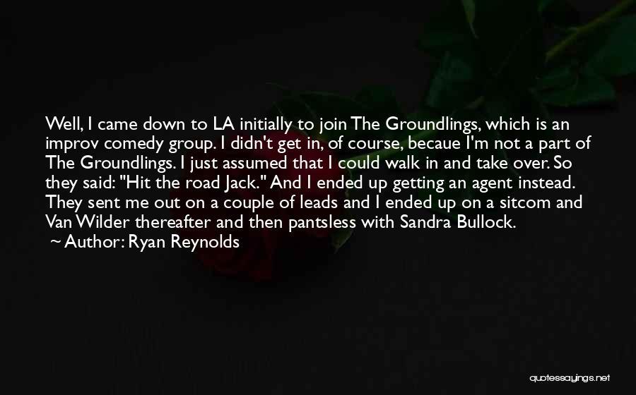 Van Wilder Quotes By Ryan Reynolds