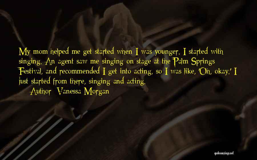 Vanessa Morgan Quotes 1987775