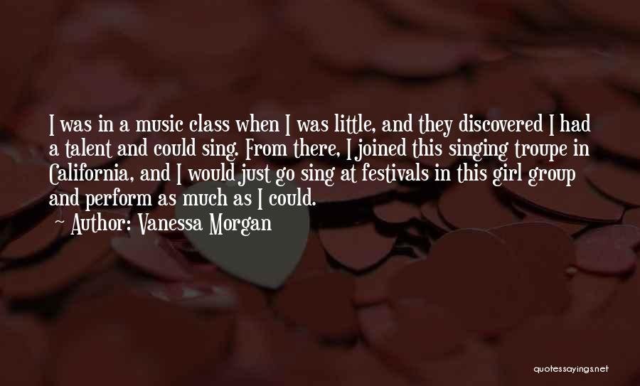 Vanessa Morgan Quotes 356082