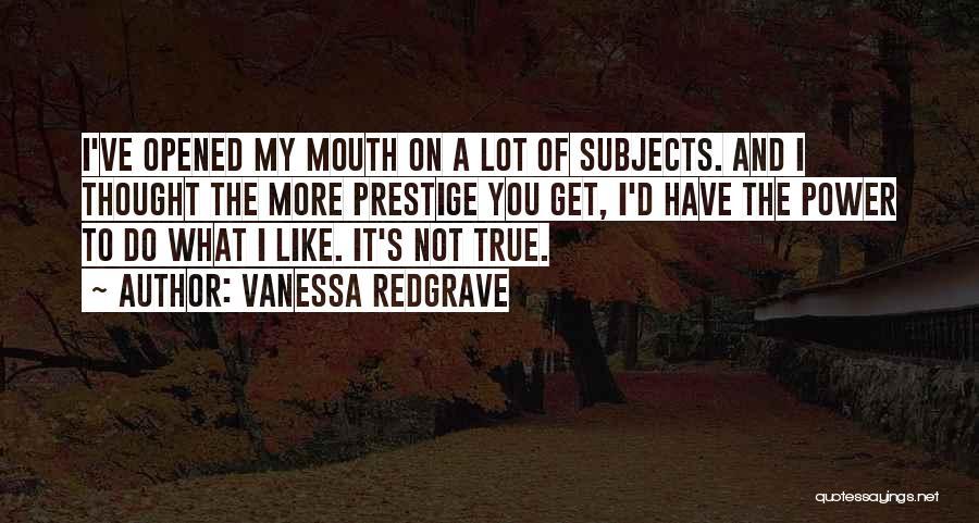 Vanessa Redgrave Quotes 1354336