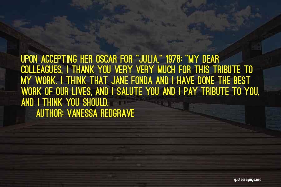 Vanessa Redgrave Quotes 450321