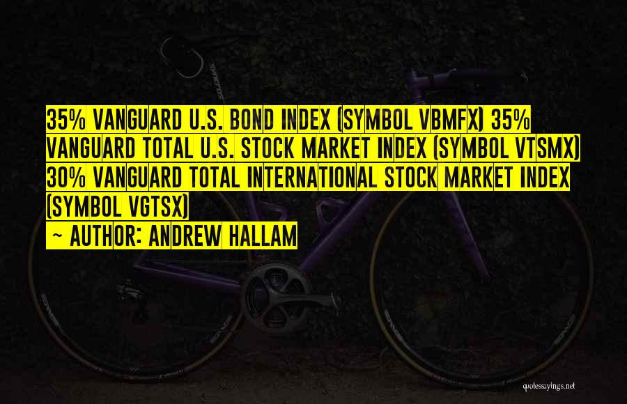 Vanguard Quotes By Andrew Hallam
