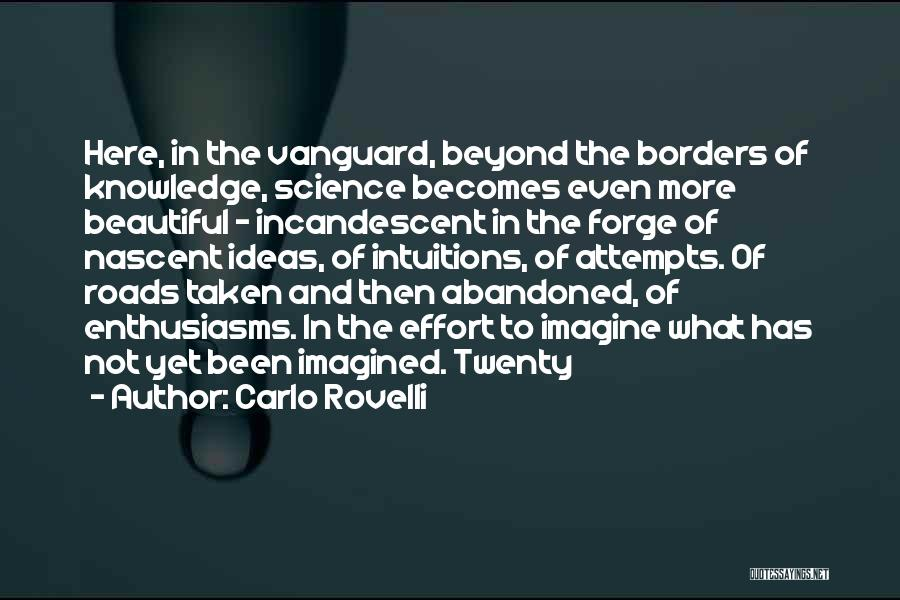 Vanguard Quotes By Carlo Rovelli