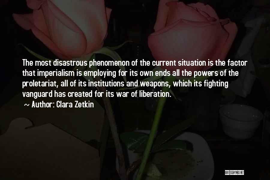 Vanguard Quotes By Clara Zetkin