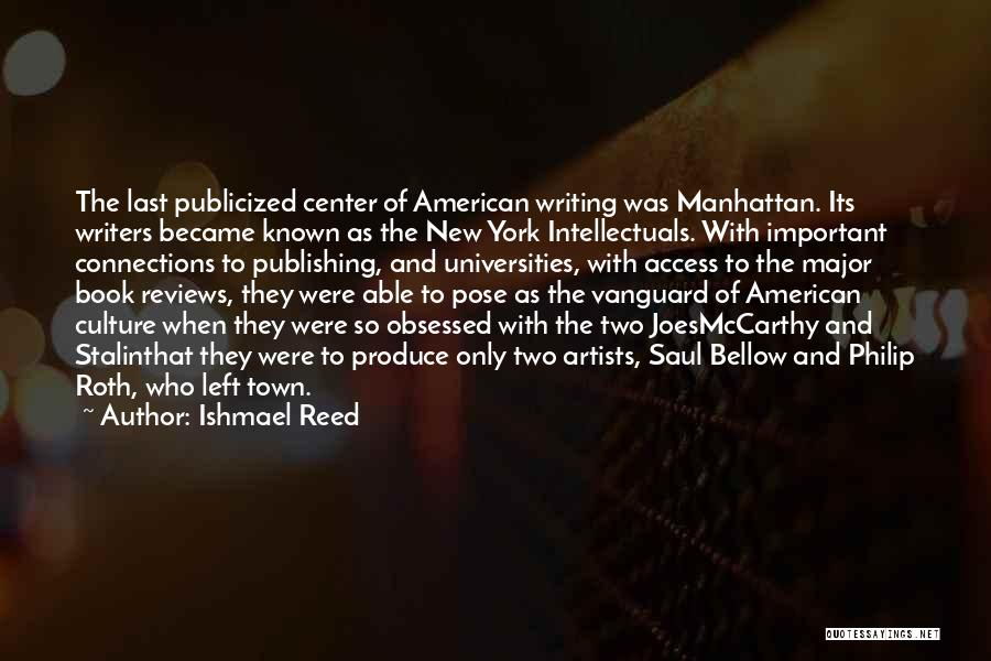 Vanguard Quotes By Ishmael Reed