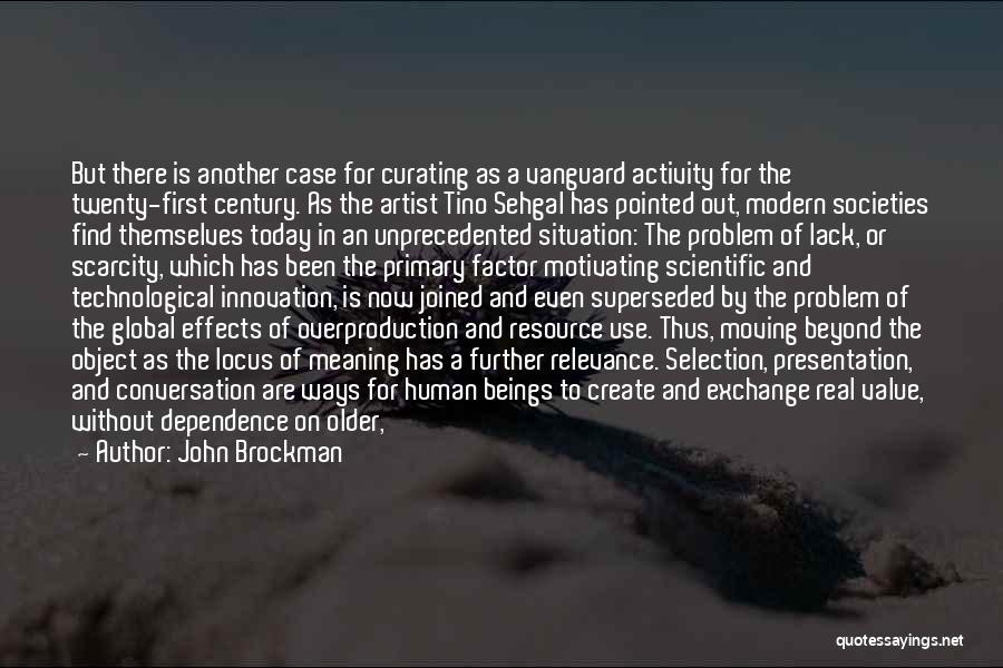 Vanguard Quotes By John Brockman