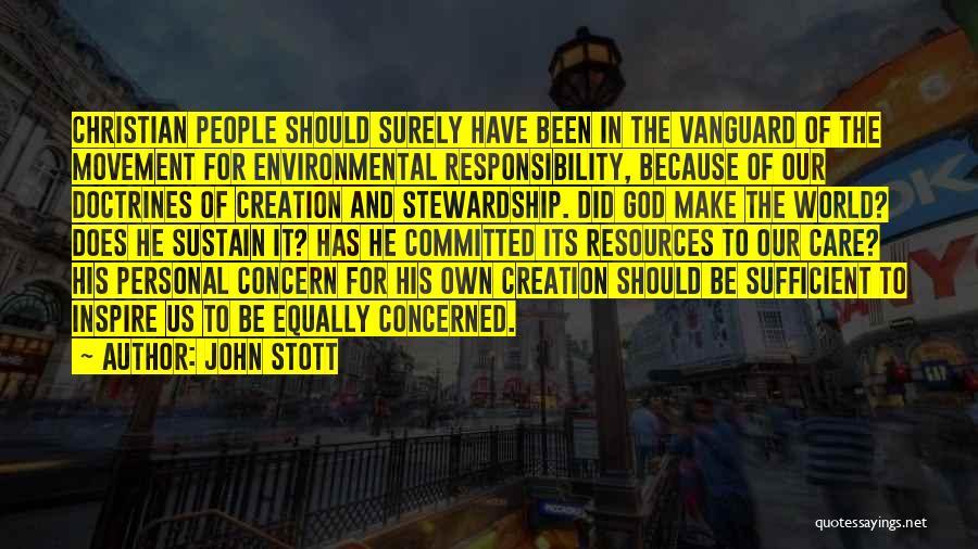 Vanguard Quotes By John Stott