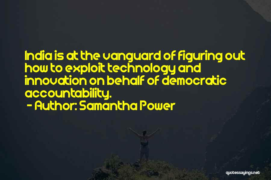 Vanguard Quotes By Samantha Power