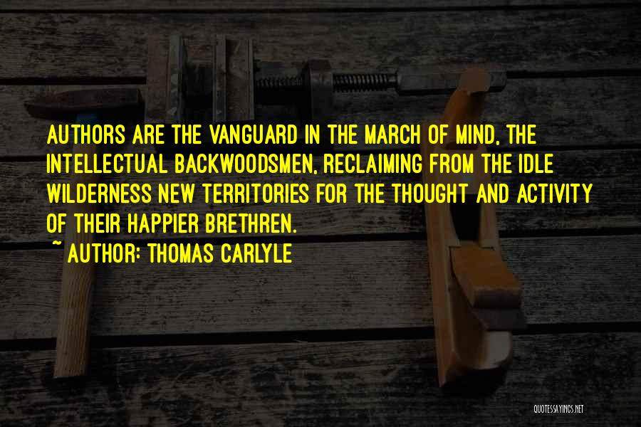 Vanguard Quotes By Thomas Carlyle