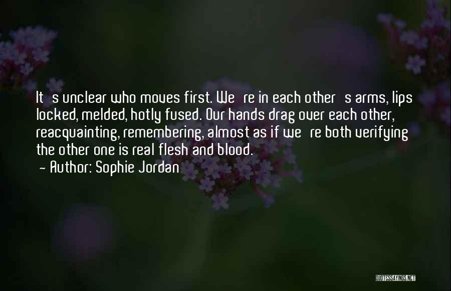 Vanish Sophie Jordan Quotes By Sophie Jordan