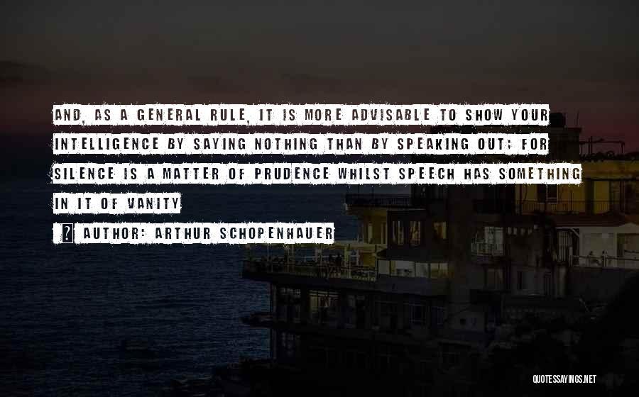 Vanity Quotes By Arthur Schopenhauer