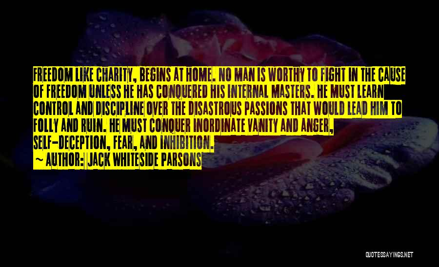 Vanity Quotes By Jack Whiteside Parsons