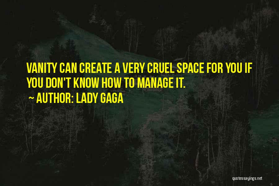 Vanity Quotes By Lady Gaga