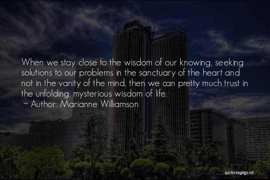 Vanity Quotes By Marianne Williamson
