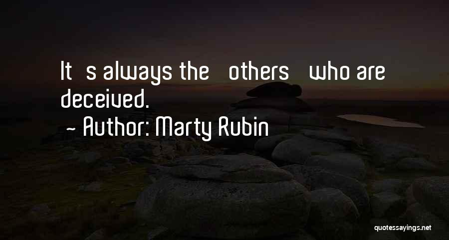 Vanity Quotes By Marty Rubin