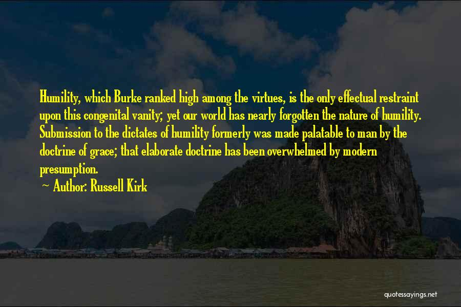 Vanity Quotes By Russell Kirk