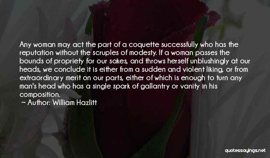 Vanity Quotes By William Hazlitt