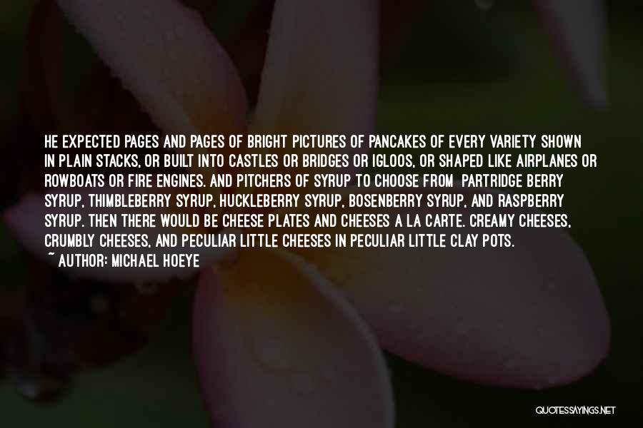 Variety Food Quotes By Michael Hoeye