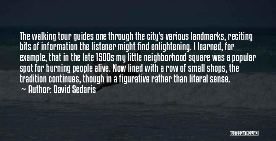 Various Funny Quotes By David Sedaris