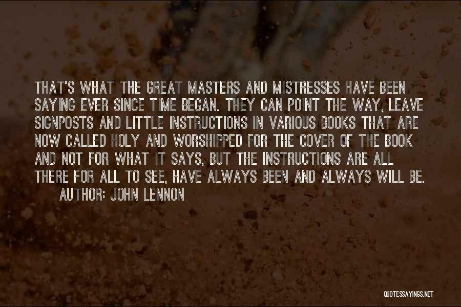 Various Inspirational Quotes By John Lennon