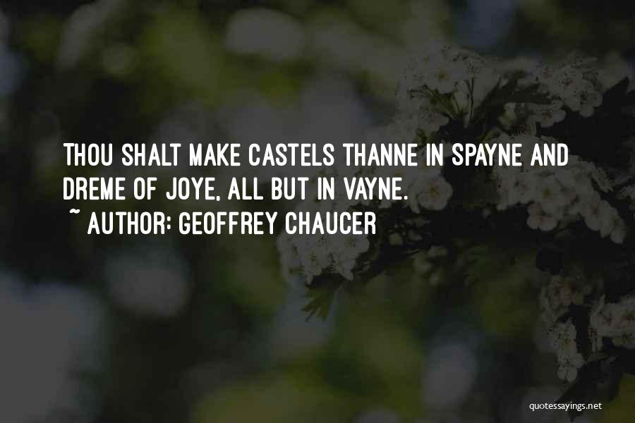 Vayne's Quotes By Geoffrey Chaucer