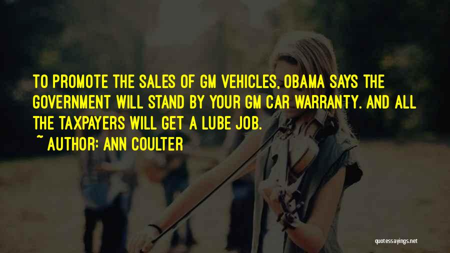 Vehicles Quotes By Ann Coulter