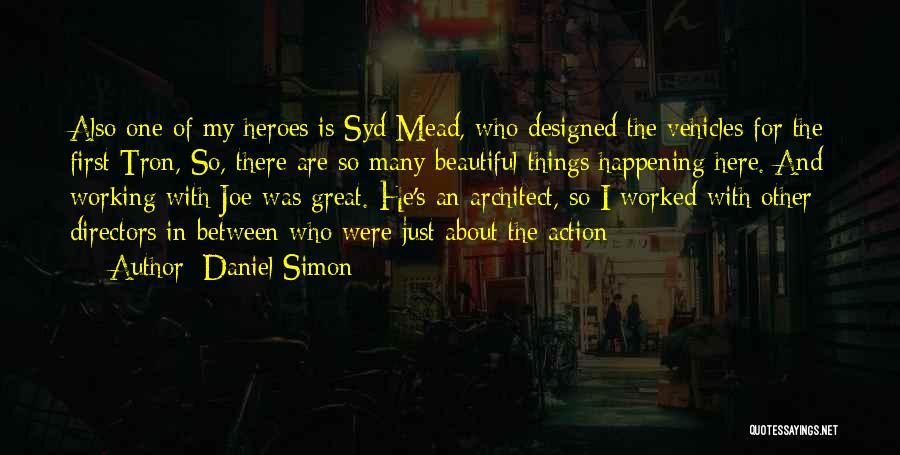 Vehicles Quotes By Daniel Simon