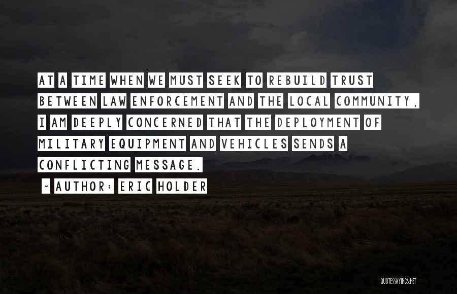 Vehicles Quotes By Eric Holder