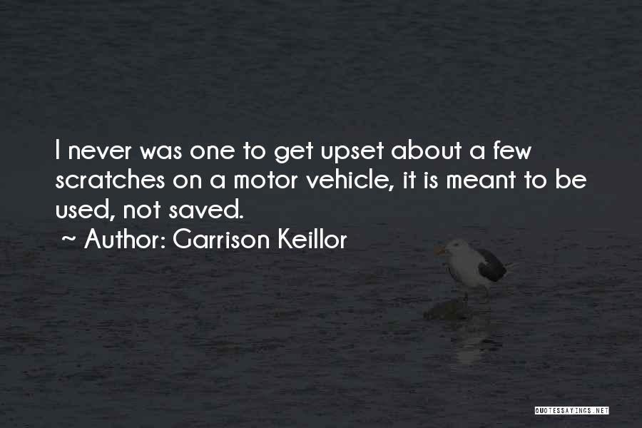 Vehicles Quotes By Garrison Keillor