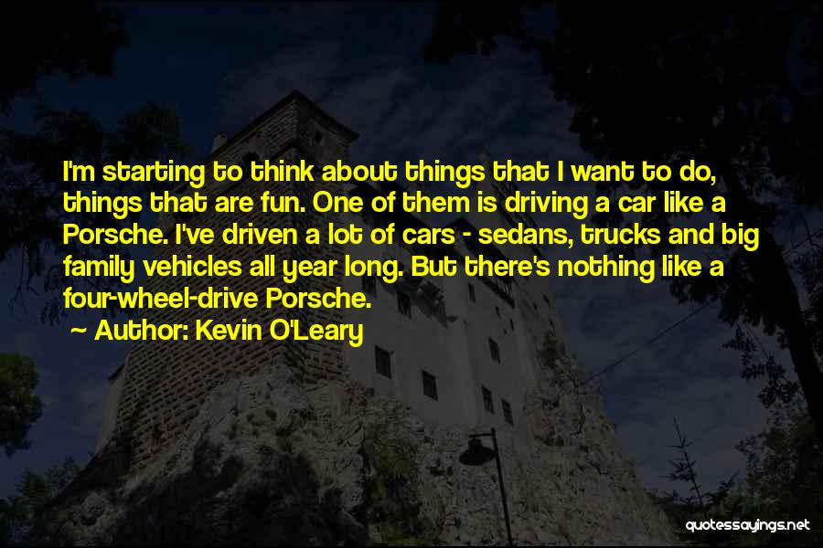 Vehicles Quotes By Kevin O'Leary