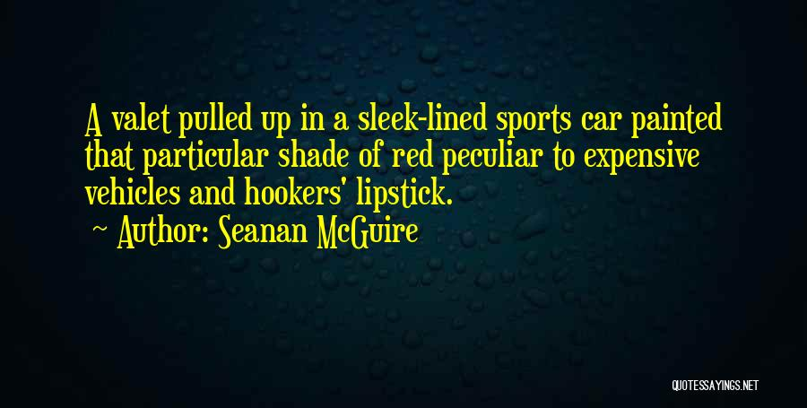 Vehicles Quotes By Seanan McGuire