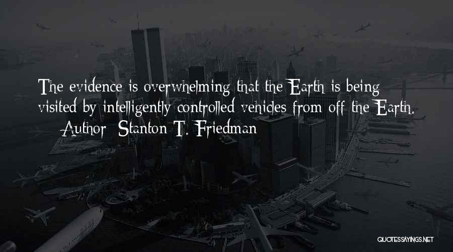 Vehicles Quotes By Stanton T. Friedman