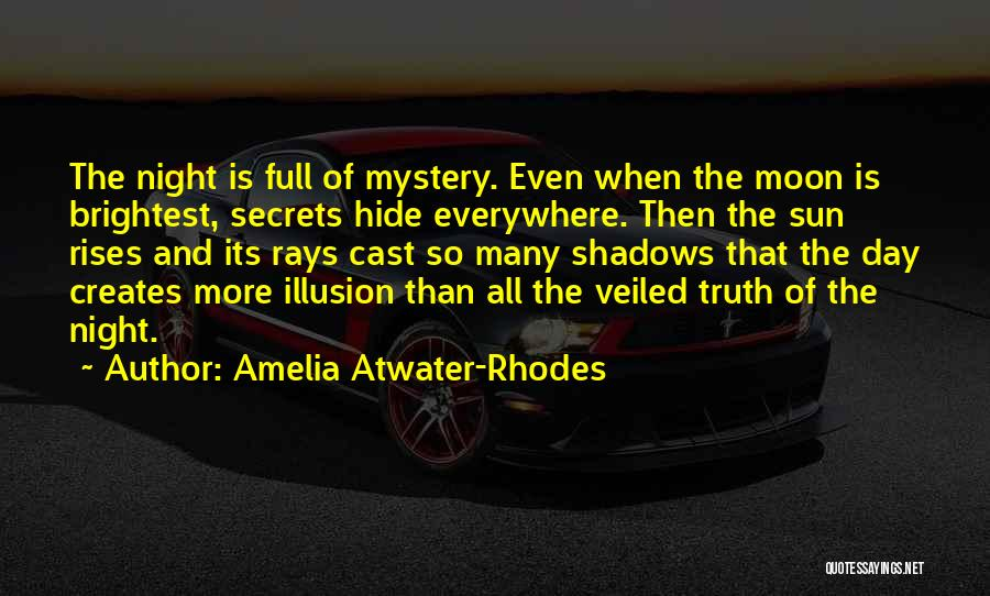 Veiled Quotes By Amelia Atwater-Rhodes