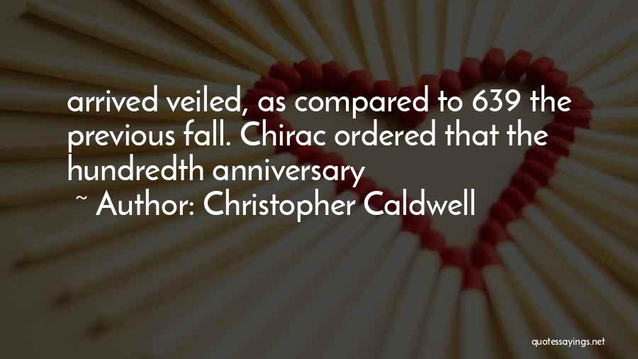 Veiled Quotes By Christopher Caldwell