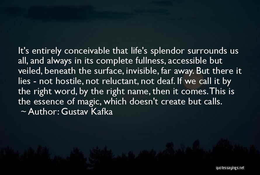 Veiled Quotes By Gustav Kafka