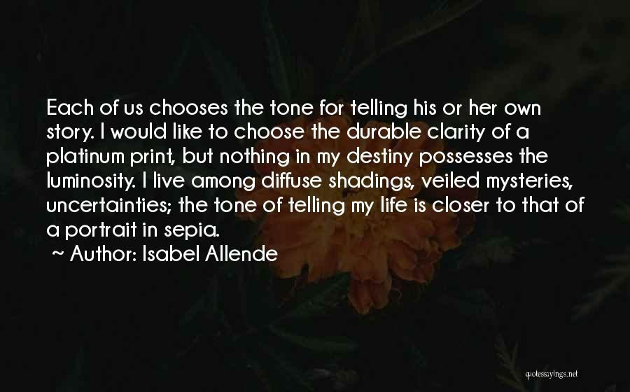 Veiled Quotes By Isabel Allende