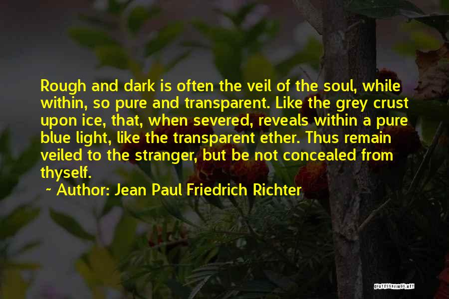 Veiled Quotes By Jean Paul Friedrich Richter